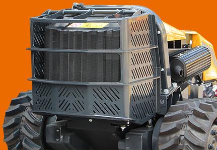 robogreen evo radiator protection