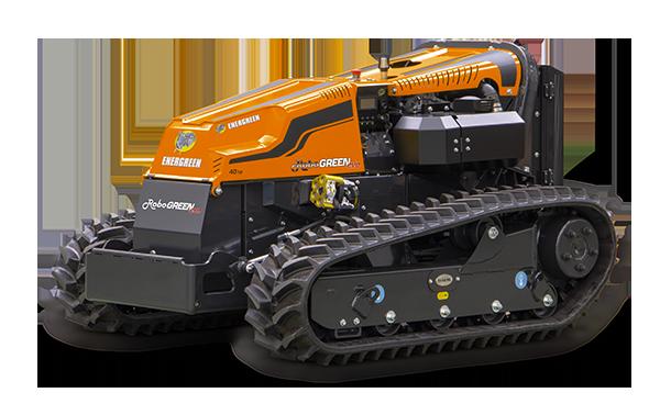 robogreen evo remote controlled mulcher 45