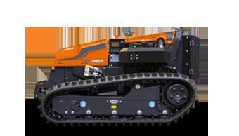 robogreen evo remote controlled mulcher sx