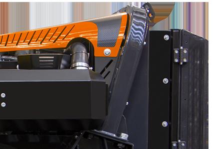 robogreen evo integrated roll bar