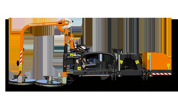 energreen raiber transformer 840 barrier mower