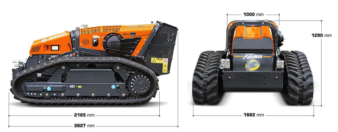 energreen robomax dimensions