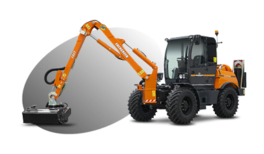 ilf kommunal - multifunction machine - arm fast - energreen professional machines