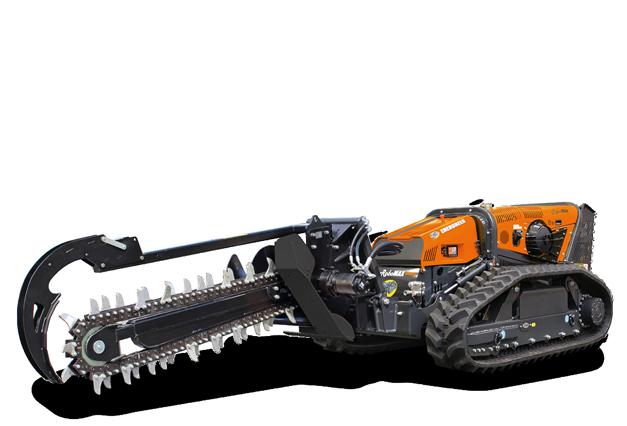 energreen robomax trencher 1500