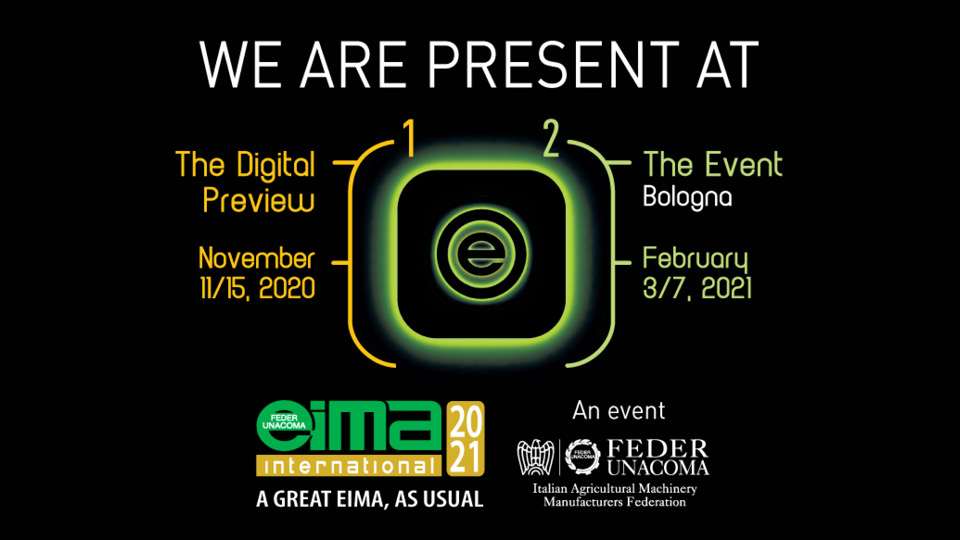 eima 2021 - february 3/7 2021 - energreen professional machines