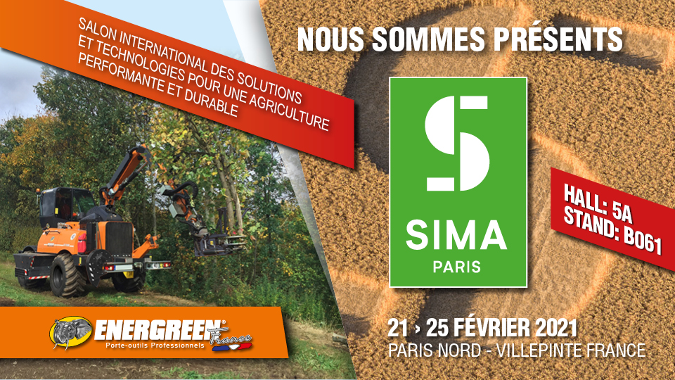 sima 2021 - february 21/25 2021 - energreen professional machines
