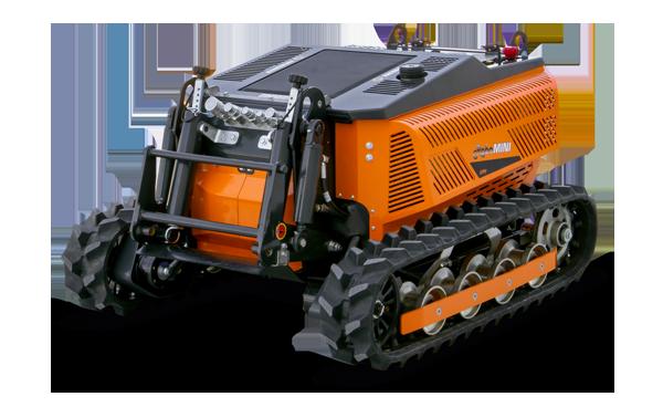 robomini - radiocontrolled mower - energreen professional machines
