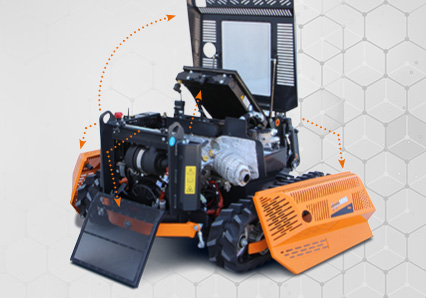 robomini - easy maintenance - energreen professional machines