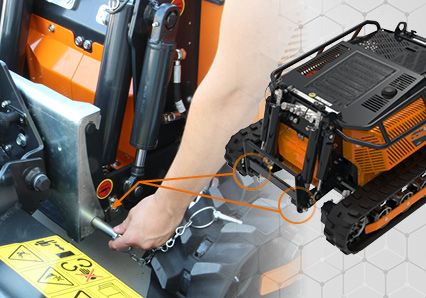 robomini - fast tool switching - energreen professional machines