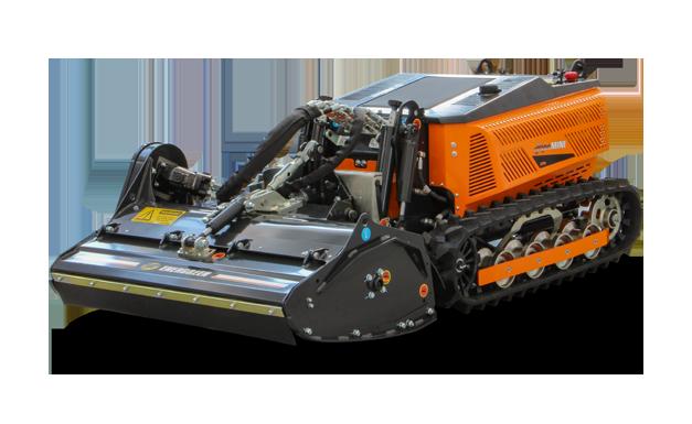 robomini - head 100 - cutting head - mulching - energreen professional machines