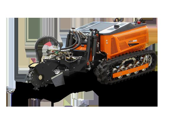 robomini - stump grider - energreen professional machines