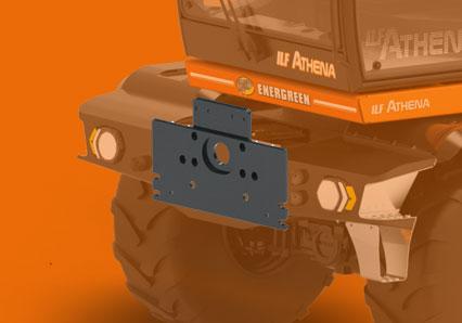 ilf athena - din plate - energreen professional machines