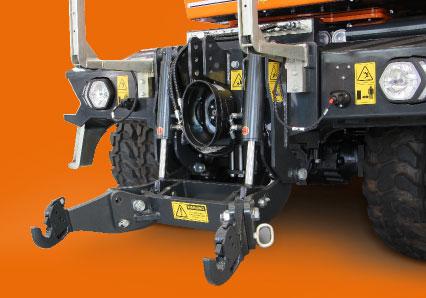 ilf athena - front attachment - energreen professional machines