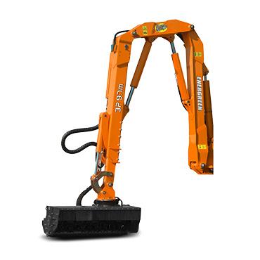 ilf alpha - arm 3p - mulching head - multifunction arm - energreen professional machines