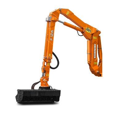 ilf alpha - arm f - mulching head - multifunction arm - energreen professional machines