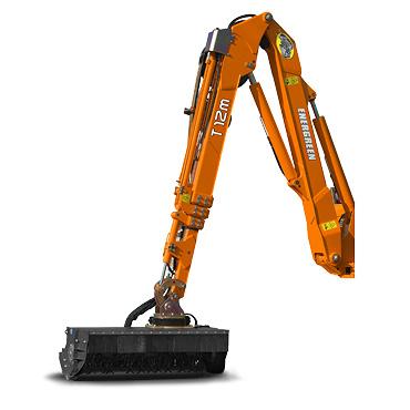 ilf alpha - arm t - mulching head - multifunction arm - energreen professional machines