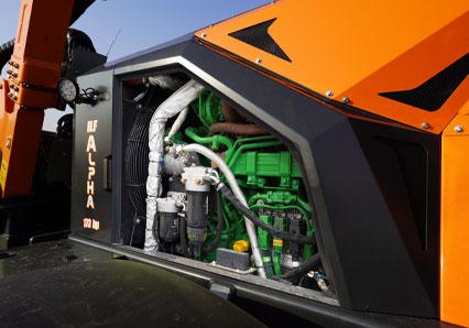 ilf alpha - john deere engine - energreen professional machines