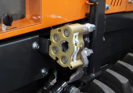 roboevo - hydraulic couplings cejn - radio controlled tracked mulcher slopes - energreen professional machines