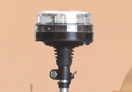 roboevo - led flashing beacon - radio controlled tracked mulcher slopes - energreen professional machines