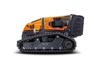 roboevo - radio controlled tools carrier - radio controlled tracked mulcher slopes - energreen professional machines