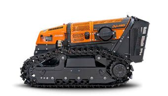 robomidi - radio controlled tools carrier - radio controlled tracked mulcher slopes - energreen professional machines