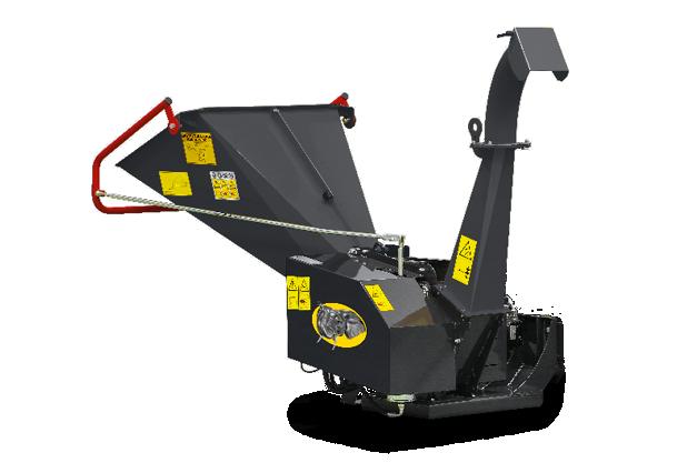 roboevo - equipment - chipper - bio shredder - energreen professional machines