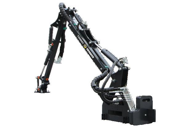 roboevo - equipment - arm - trimmy - energreen professional machines