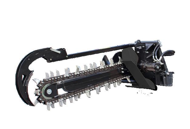 roboevo - equipment - trencher - energreen professional machines