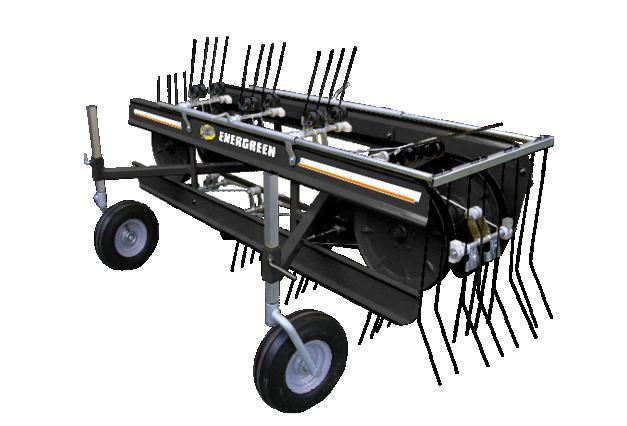 roboevo - equipment - rake - energreen professional machines