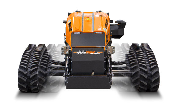 roboevo vaario - remote controlled mulcher - energreen professional machines
