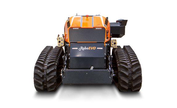 roboevo - remote controlled mulcher - energreen professional machines