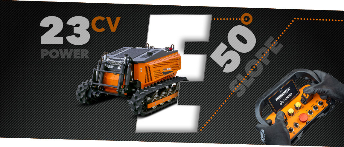 robomini - extreme grip - slopes - energreen professional machines