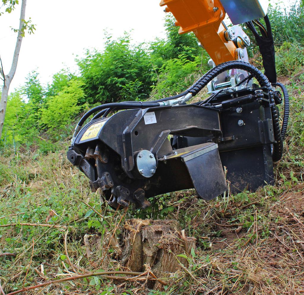 professional equipment - stump grinder - energreen professional machines