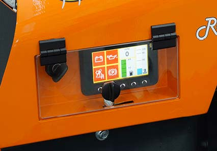 robomidi - multifunction robo - color display - energreen professional machines