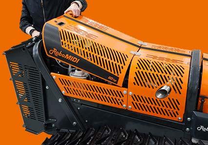 robomidi - multifunction robo - engine storage - energreen professional machines