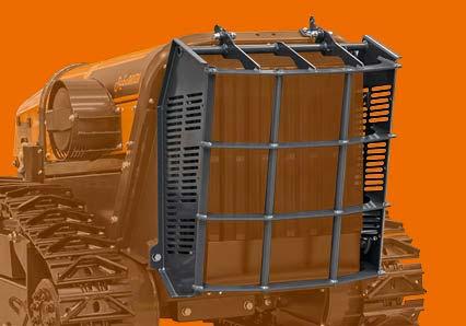 robomidi - multifunction robo - steel radiator protection - energreen professional machines