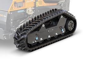 roboevo - adjustable tracks - radio controlled mulcher - energreen professional machines