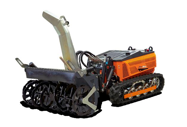 robomini - equipment - snow blower - energreen professional machines
