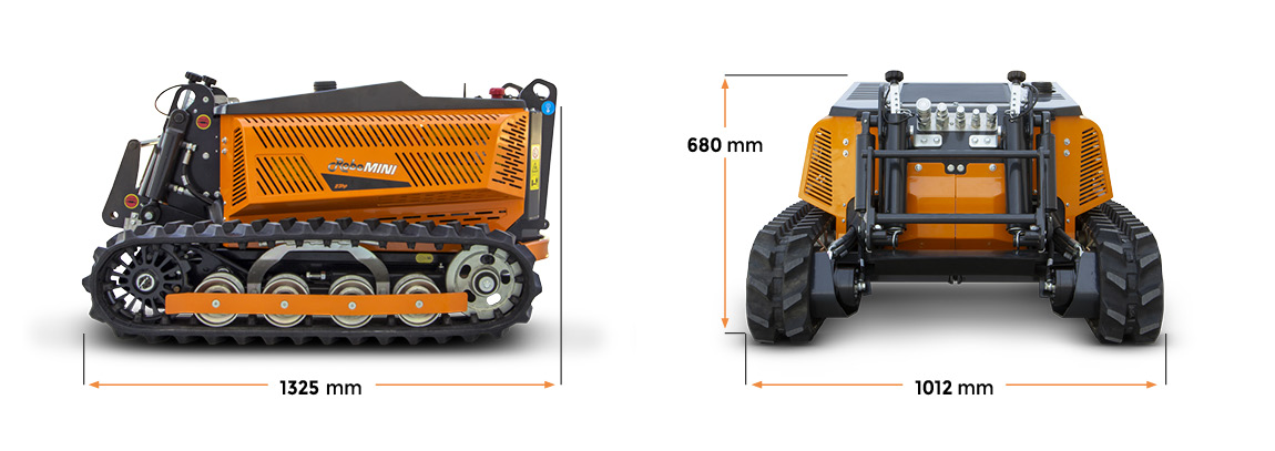robomini - dimension - energreen professional machines