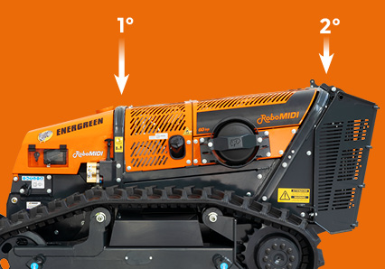 robomidi - components quality - double roll bar - energreen professional machines
