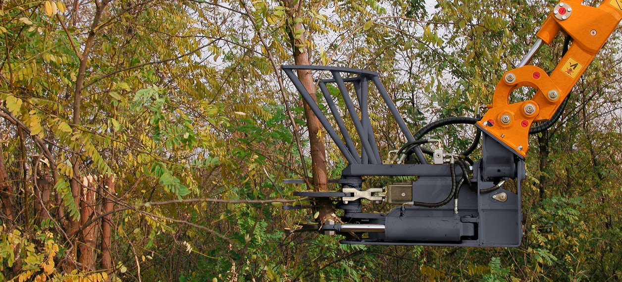 professional equipment - extra trunk - forestry work - energreen professional machines