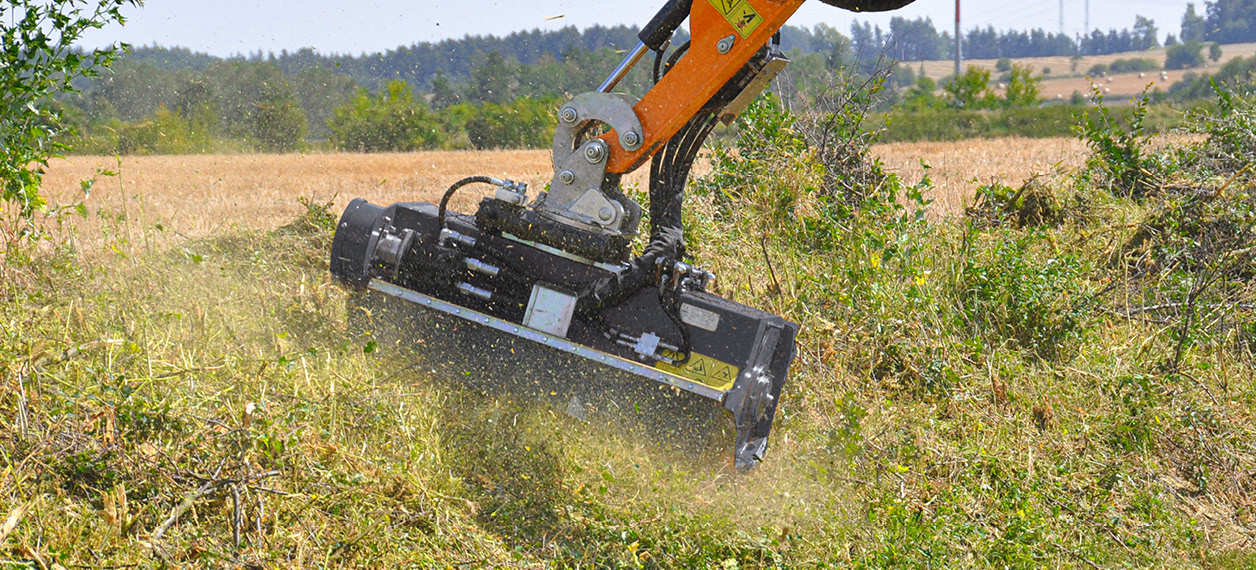 professional equipment - new speed - forestry work - energreen professional machines