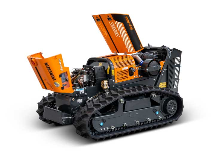 robomidi - components quality - multifunction robo - energreen professional machines