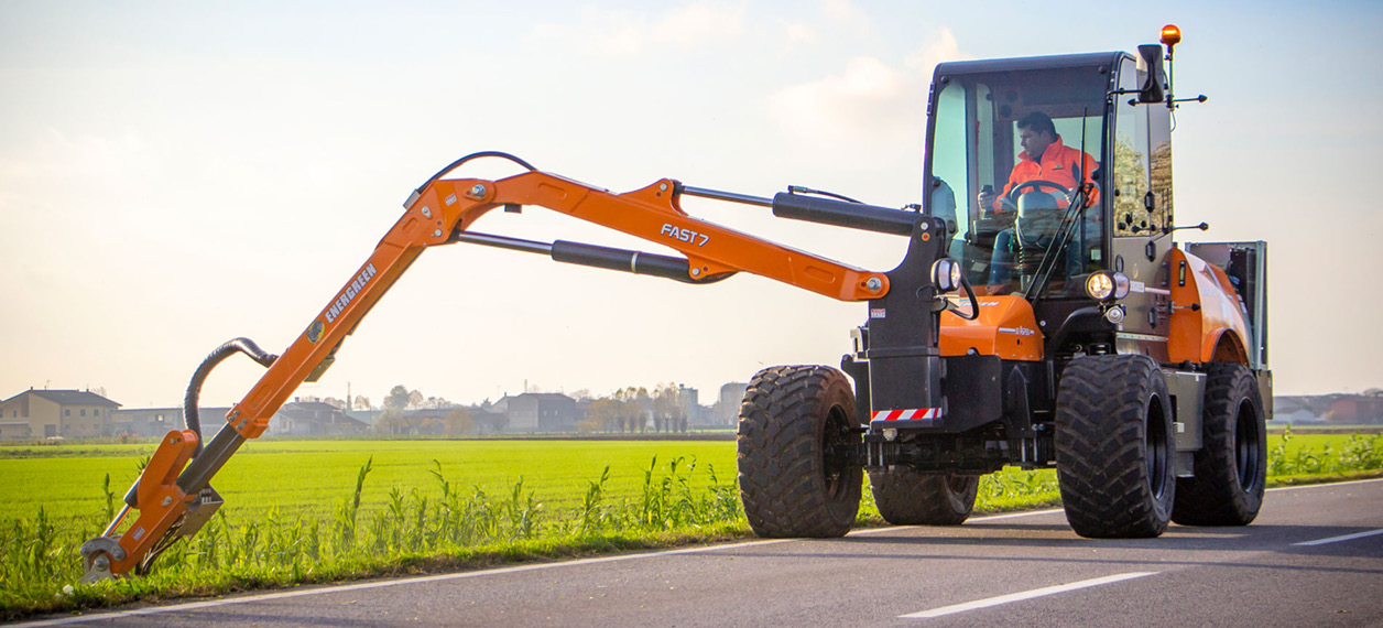 self propelled hydrostatic machines - ilf aspen - road maintenance - energreen professional machines